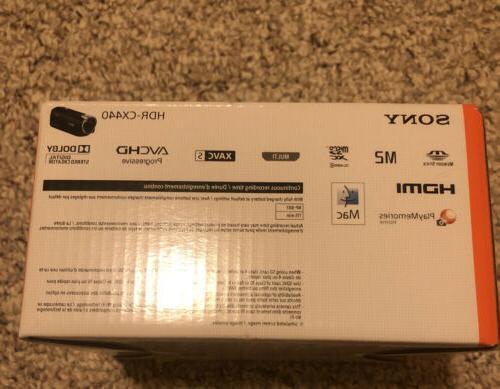 NEW! Sony Handycam