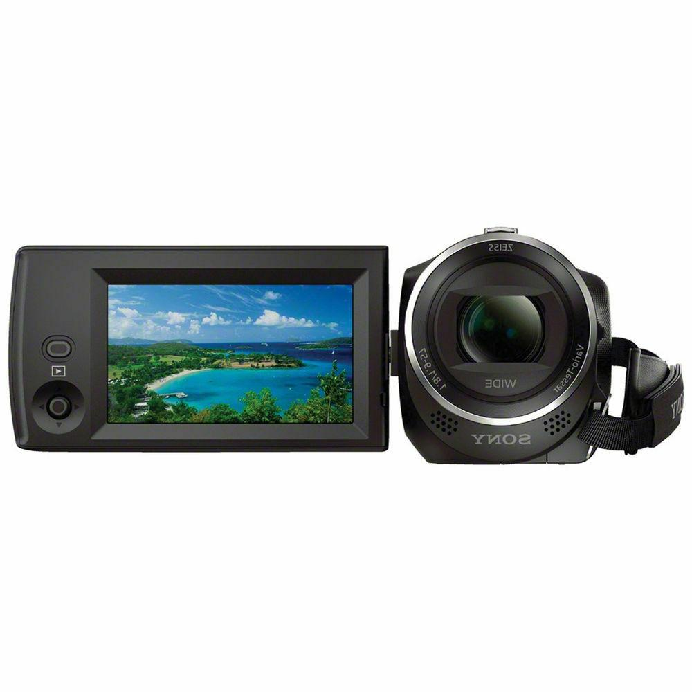 New, Sony HDR-CX440 Camcorder, Black, 1080p HD,