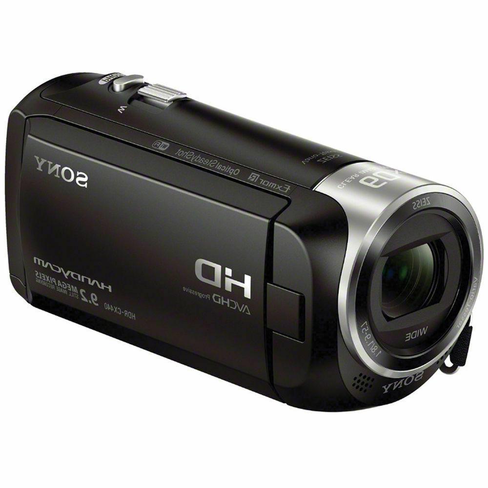 New, Sony Camcorder, Black, HD, 8GB