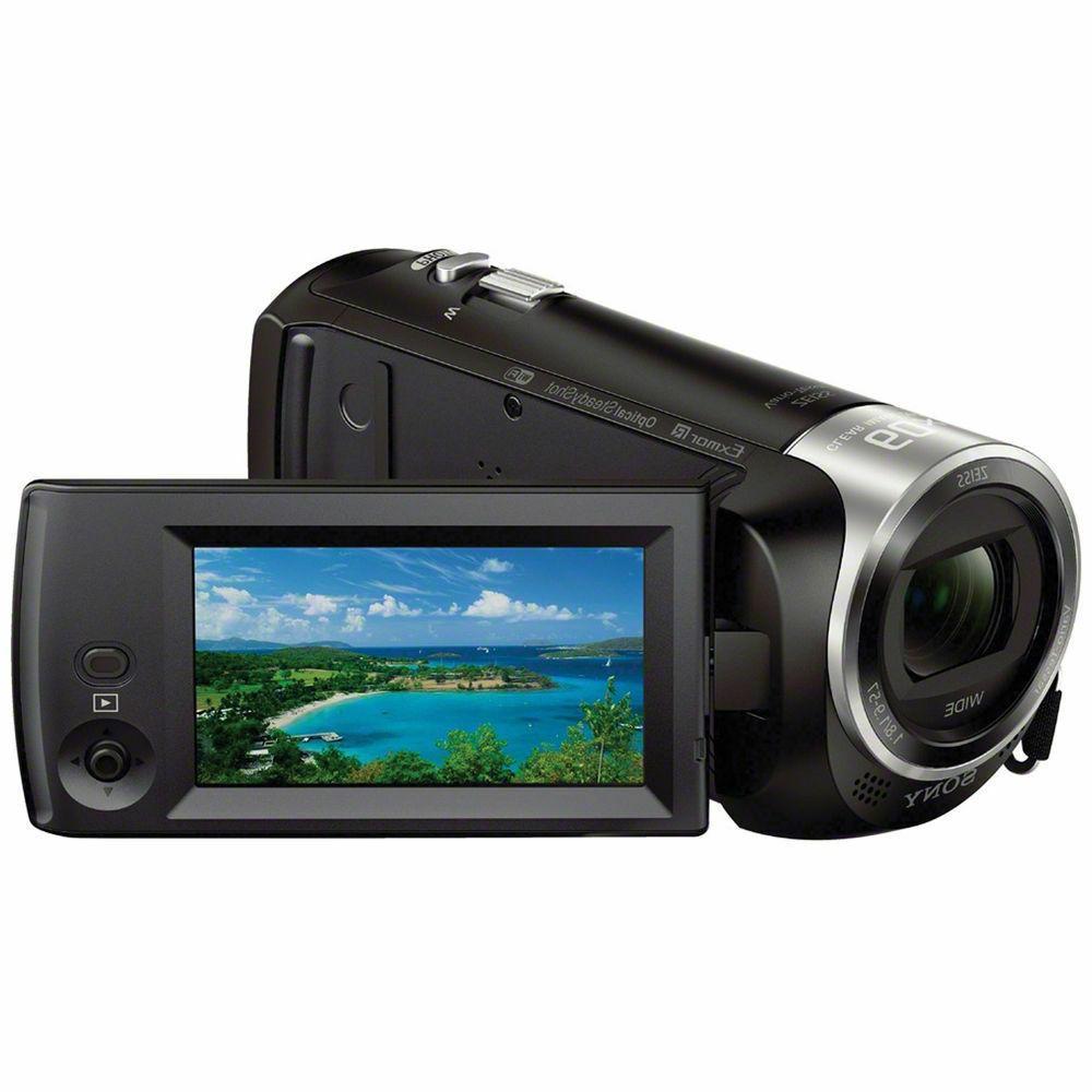 new handycam hdr cx440 camcorder black 1080p