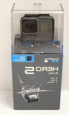 NEW - GoPro Hero 5 Black CHDBB-501 4K Ultra HD 12MP Action C