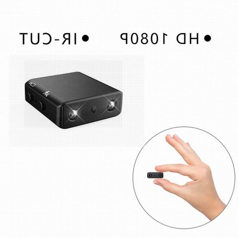 Mini Camera Smallest 1080p HD Infrared <font><b>Camcorder</b