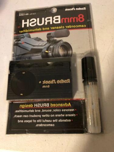 new radio shack 8mm brush camcorder cleaner