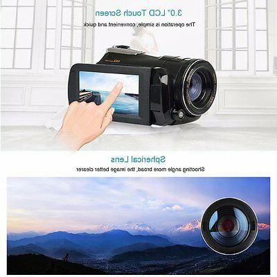 Infrared Camcorder 1080P HD Video Camcorder