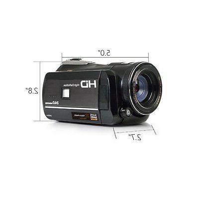 Night Camera Infrared HD Video Camcorder 18X