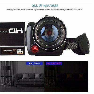 Night Vision Camera Infrared 1080P HD Video 18X
