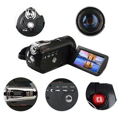 Night Infrared HD Video Camcorder 18X