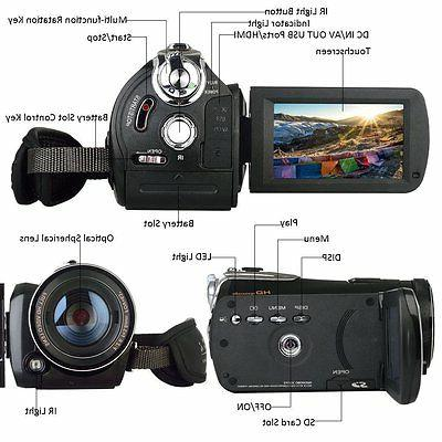 Night Infrared Camcorder HD Camcorder 18X