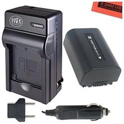 BM Premium NP-FV50 Battery And Battery Charger for Sony HDR-