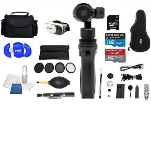 DJI Osmo Handheld 4K Camera and 3-Axis Gimbal Full Gear  Bun