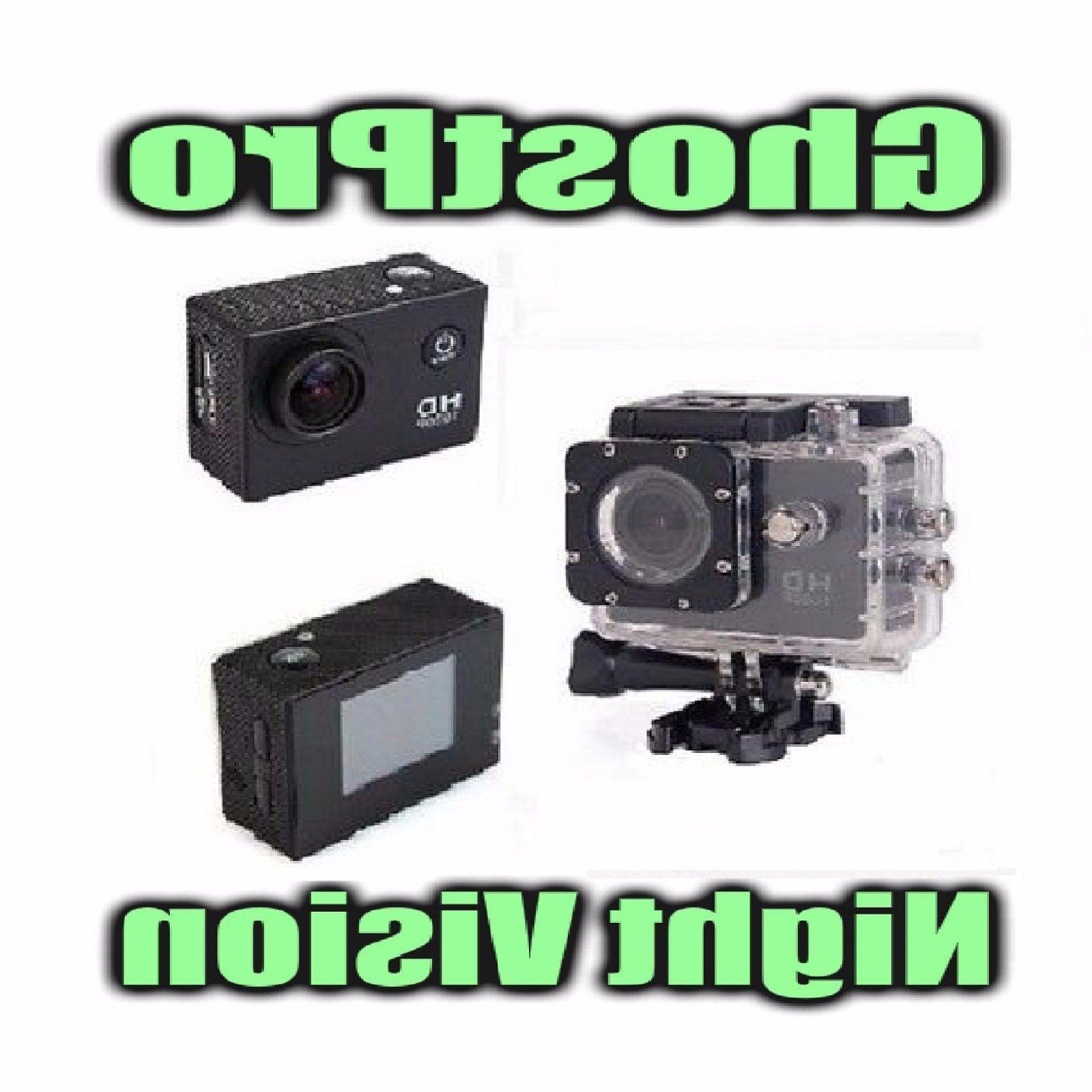 Paranormal Ghost Hunting Equipment Night Vision Action Cam w