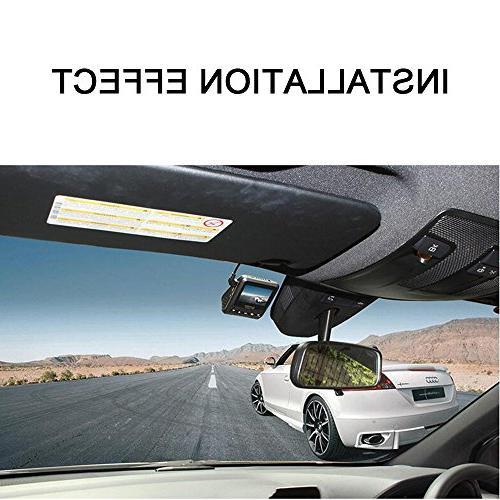 PowerLead Pdvr D011 inch Full HD Car DVR Traveling Data Camcorder Vision Camera