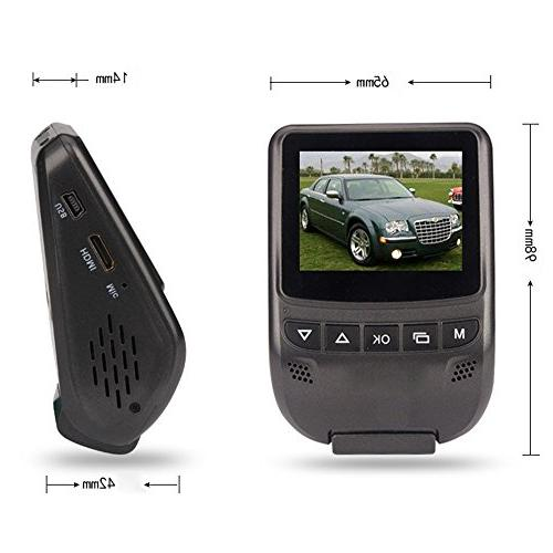 PowerLead 2.7 inch Full Car Traveling Data Night Vision Vehicle Camera