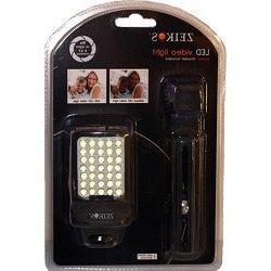 Zeikos LED Digital Photo & Video Camcorder Light with Bracke