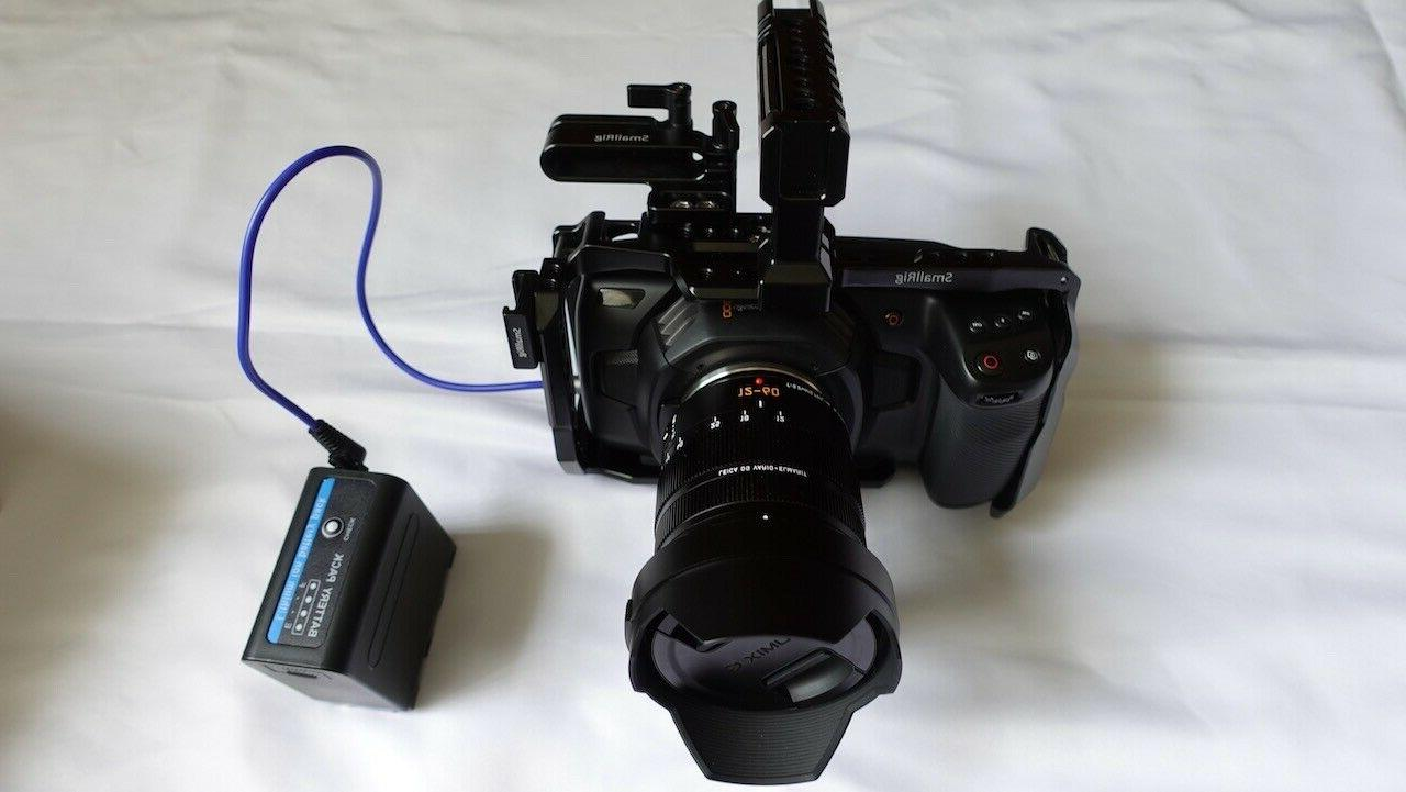Blackmagic Design Camera 4K 12-60 G +SR CAGE