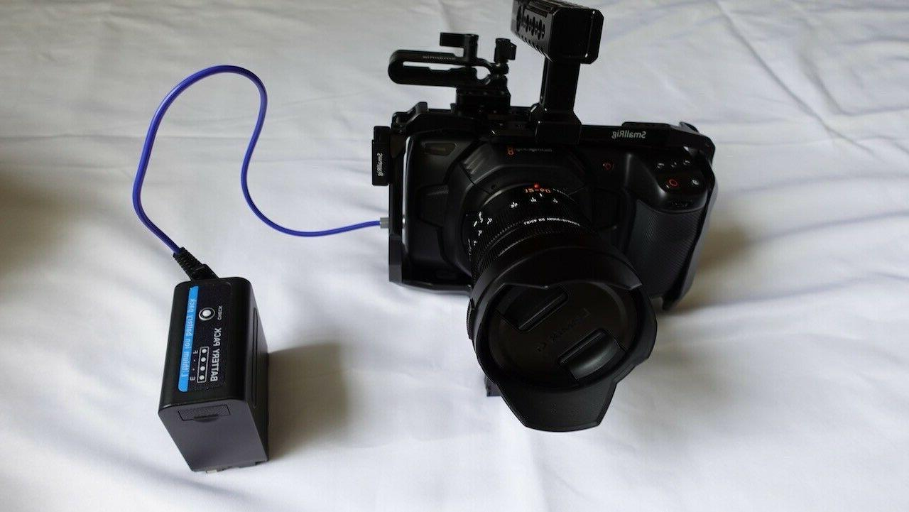 Blackmagic Cinema Camera 12-60 Lumix G CAGE