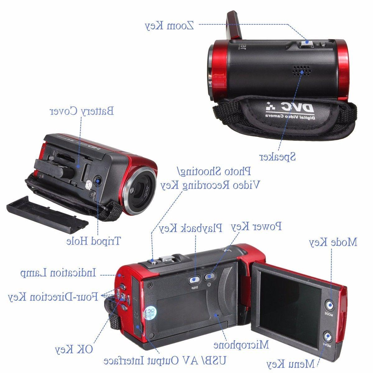 Portable Video 16MP Zoom Accessories Kit