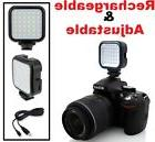 LED Light With Power Kit For Nikon D7500 D500 D3400 D5600 D5