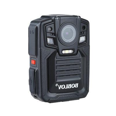 HD 1296P 64GB Portable HD Body Police Camera  Security Pocke