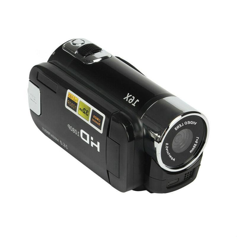 Pro 1080P 16M 16X Video Camera US