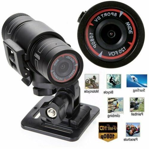 Gun Cam 1080P DV Mount Bike Bicycle Helmet Sports Action Cam