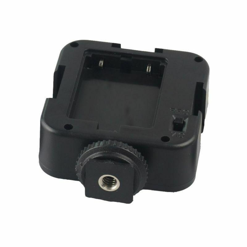 Professional Rechargeable 36 LED Camera Camcorder
