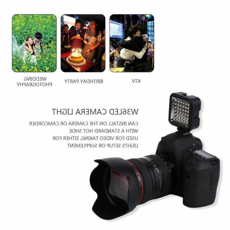 Professional Video Light 36 5600K Camera