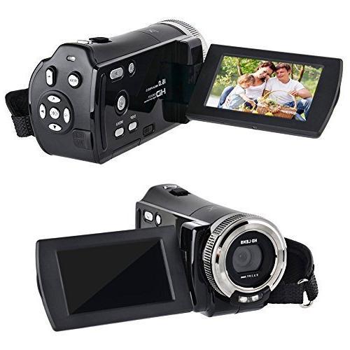 PowerLead Mini DV C8 16MP High Definition Video DVR 2.7'' TFT 16x Hd Recorder Camera 720p Video