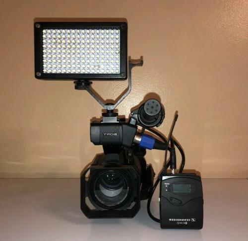 Sony PXW-X70 Professional XDCAM Sennheiser
