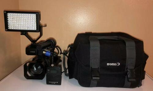 Sony Professional Camcorder XDCAM Sennheiser