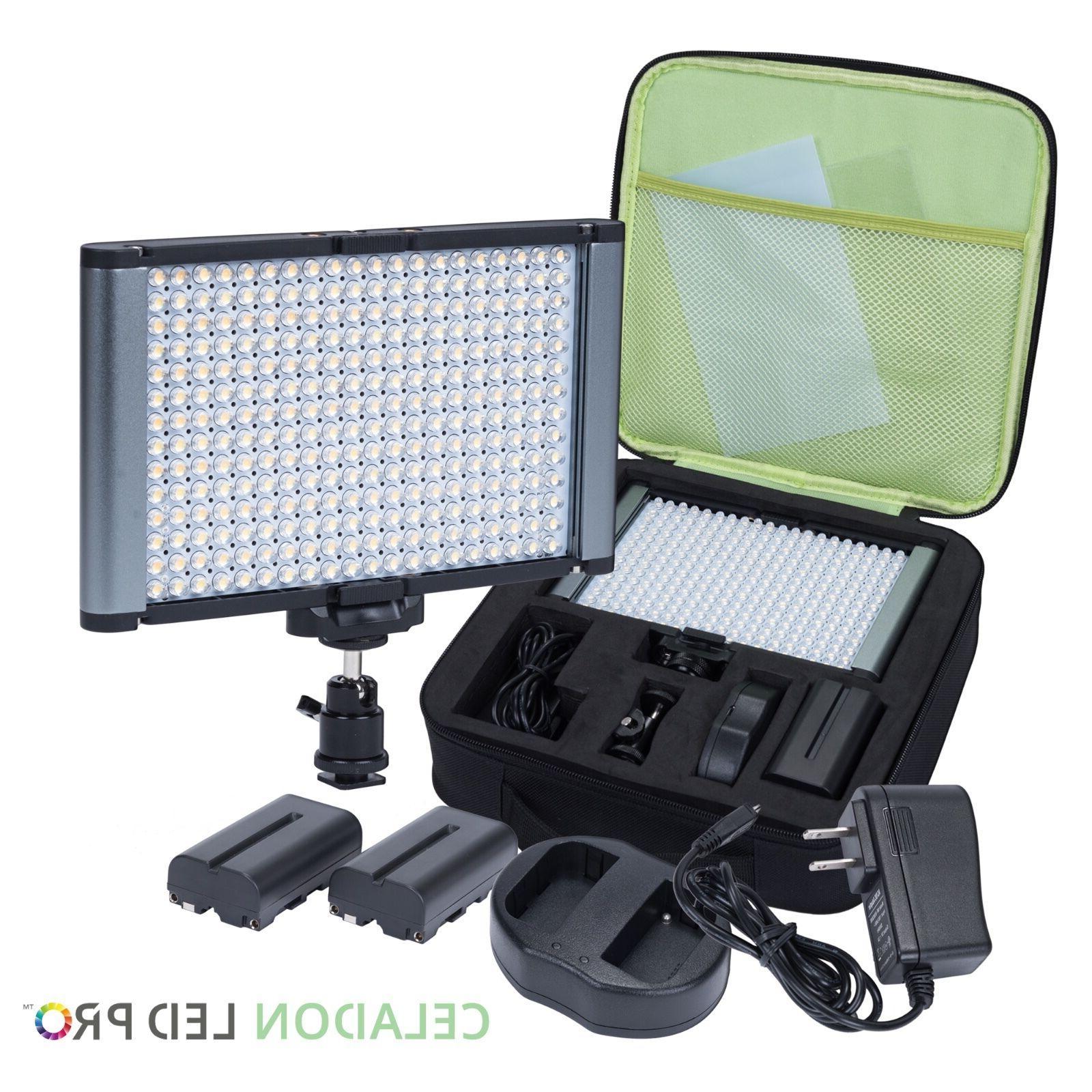 Radiant CRI 95+ Bi-Color Video On-Camera Kit