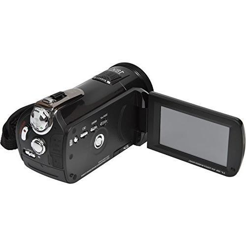 Bell & DNV24HDZ Camera Camcorder Night Vision 16GB Card Case LED Video + Tripod