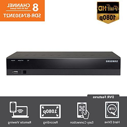 SDR-B74303N - Samsung Wisenet 8 Ch 1080p HD