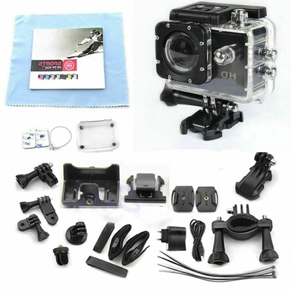 SJ4000 DV Waterproof 1080P Full HD Sport Action Video Black