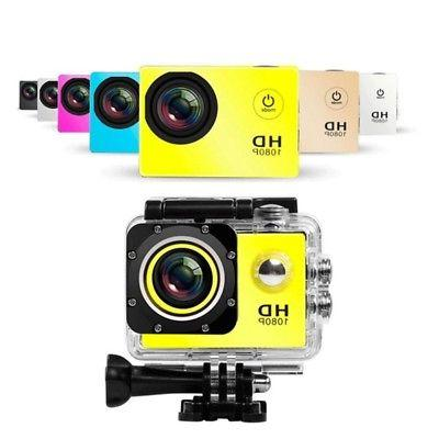 400mAH Camera DV Car Action Record Waterproof
