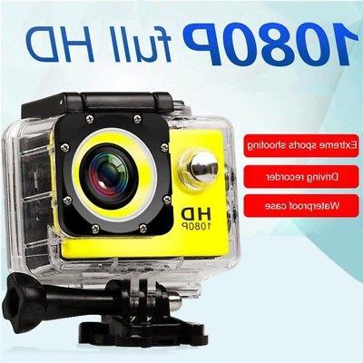 Waterproof 4K HD Ultra Sports Action DVR Camcorder