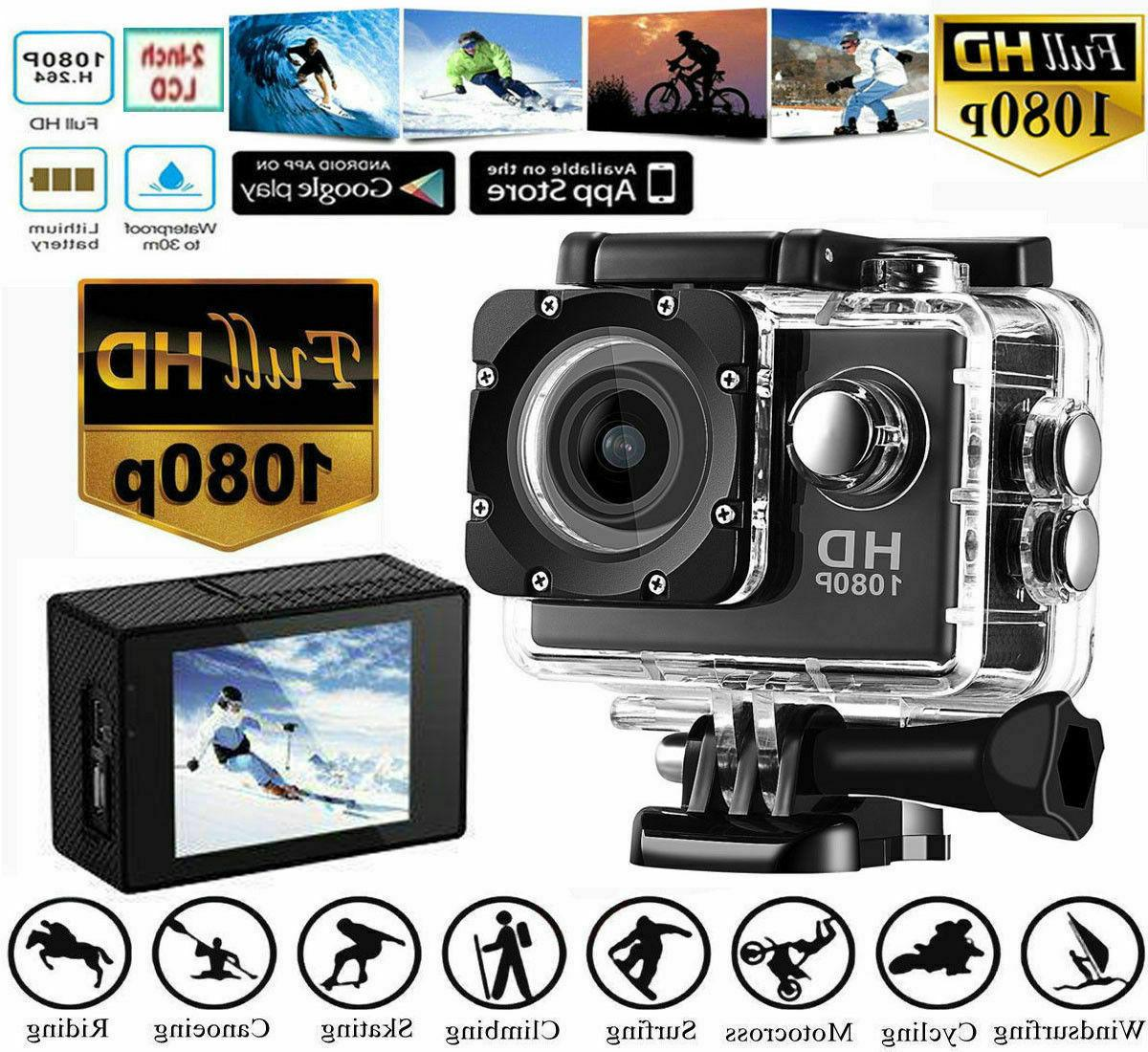 SJ5000 12MP Ultra 1080P Action Sports Camera Cam