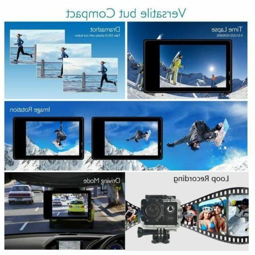 1080P Ultra Action Camera Helmet Cam Camcorder USA