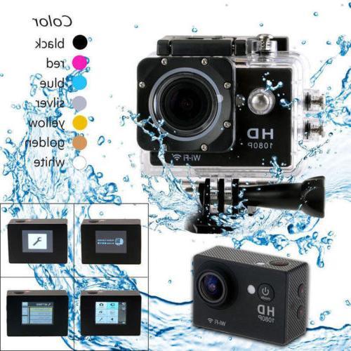 SJ9000 Ultra Wifi Waterproof Sport Action Camera DV Cam Helm