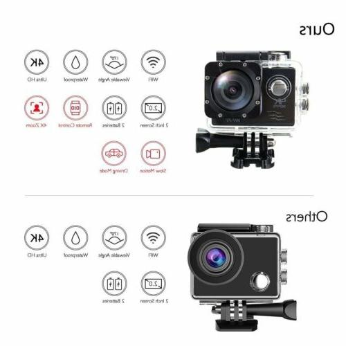 SJ9000 Wifi 1080P Ultra HD 30M Action Camcorder