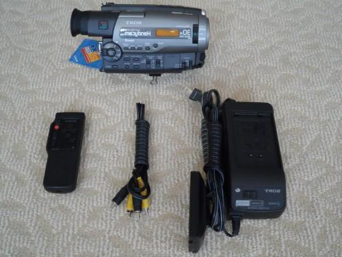 sony ccd tr96 camcorder
