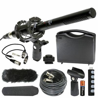 Canon VIXIA HF G40 Camcorder External Microphone Vidpro XM-5