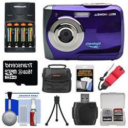 Bell & Howell Splash WP7 Waterproof Digital Camera  with Bat