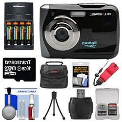 Bell & Howell Splash WP7 Waterproof Digital Camera  with Bat