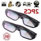 2pcs HD 720P Spy Camera Glasses Hidden Eyewear DVR Video Rec
