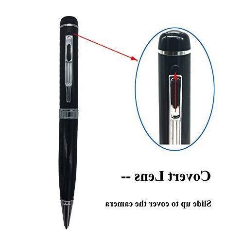 Bysameyee HD Mini DVR, Portable Video Refills, – Black