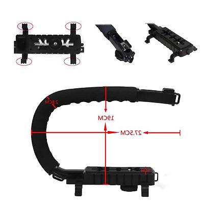 Stabilizer C-Shape Bracket Handheld for Camera Camcorder NEW