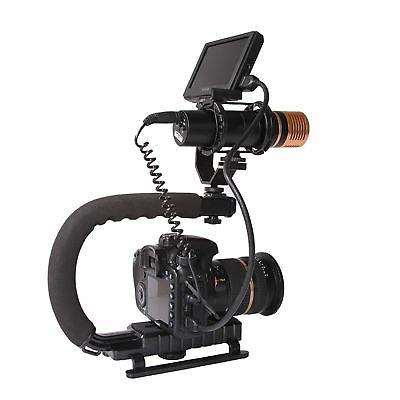 stabilizer c shape bracket video handheld grip