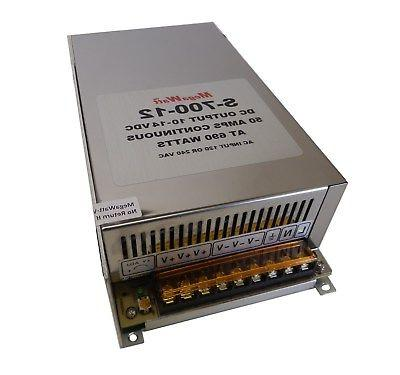 50 Amp Power Supply Stack to 100 Amps
