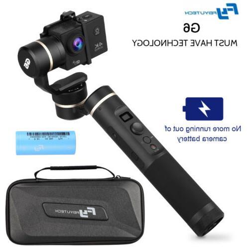 Feiyu G6 3-Axis Wi-Fi Bluetooth Handheld Gimbal Stabilizer f